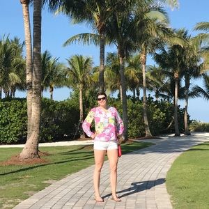 Used Lilly Pulitzer Elsa top